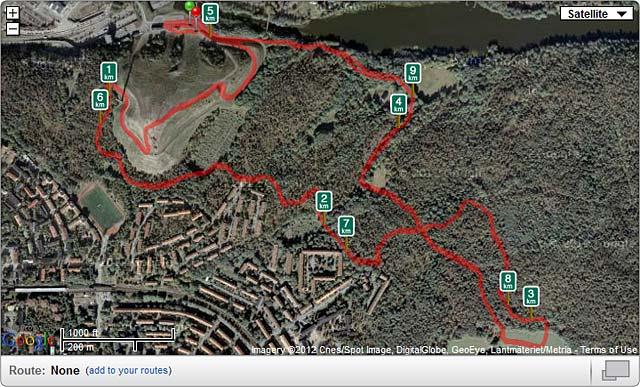 Banan: Hammarby Hill Run