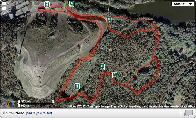 Sickla Trail Run test