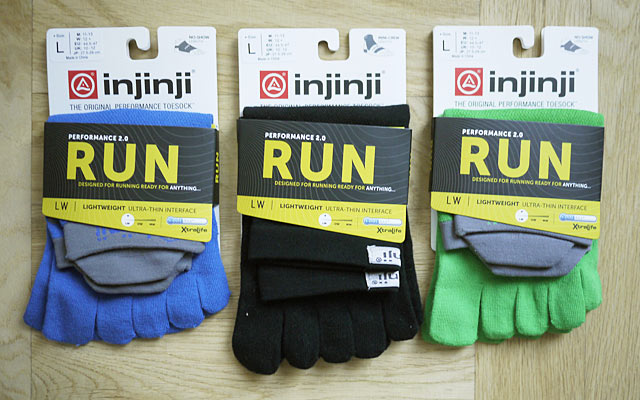 Tåstrumpor: Injinji Run Lightweight