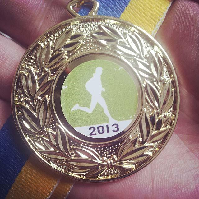 Medalj Stockholm Trail