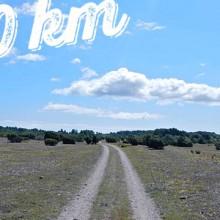 260 km löpning, juli 2013