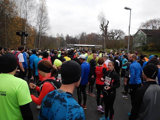 Starten Vintermarathon