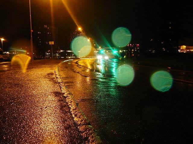 Regnig kväll