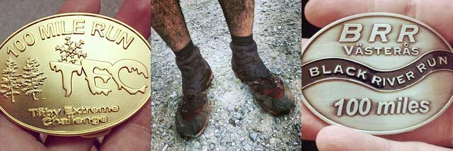 42 km - TEC 100 miles, AXA Fjällmaraton och Black River Run
