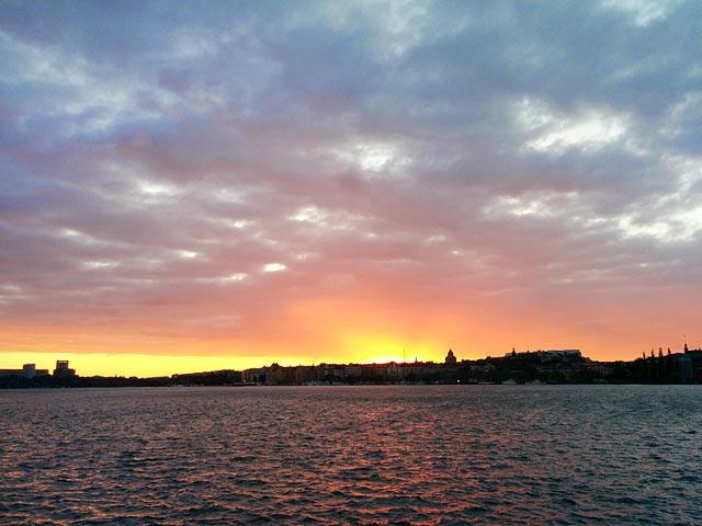 Solnedgång Söder