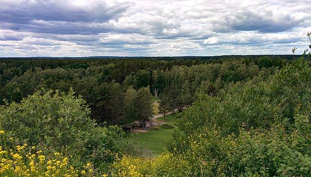 Utsikt från Lillsjöbacken