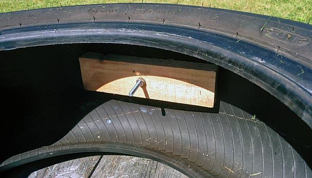 Däcklöpning: fäste i bildäck