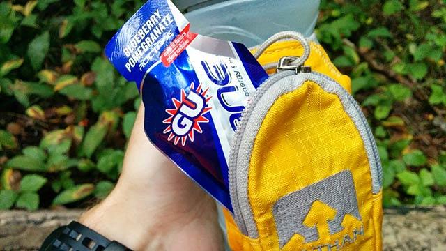 Frukost: Roctane Ultra Endurance Energy Gel från GU Energy