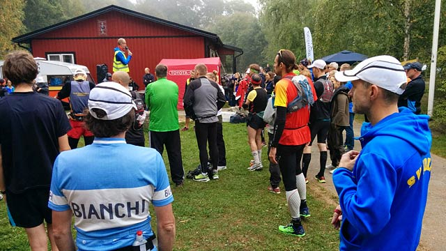 Starten för Black River Run