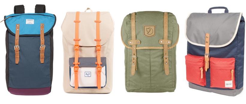 Hipster-ryggsäck