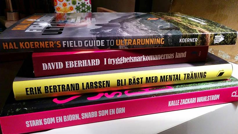 Böcker: Field Guide to Ultrarunning, Stark som en björn...