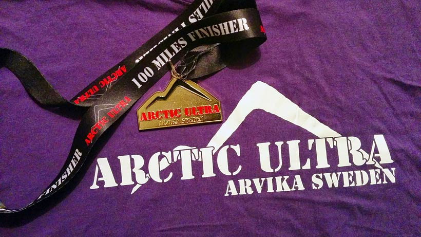Arctic Ultra Finisher t-shirt