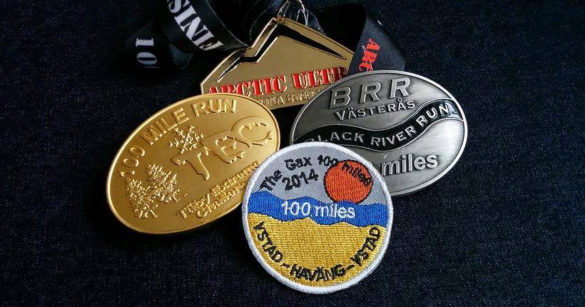 Medaljer, Swedish 100 mile Challenge