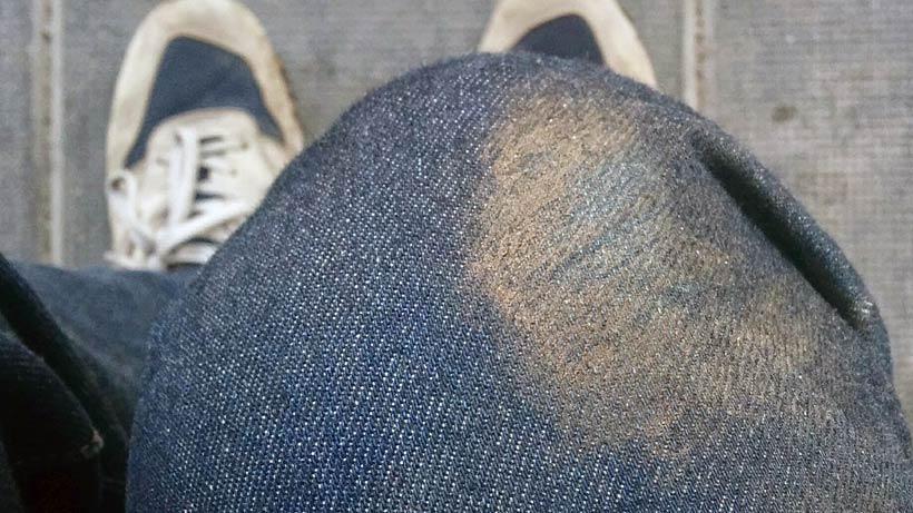 Jeans efter vurpa