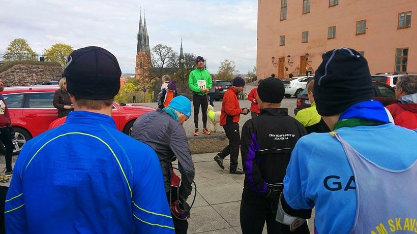 Starten Aros Marathon