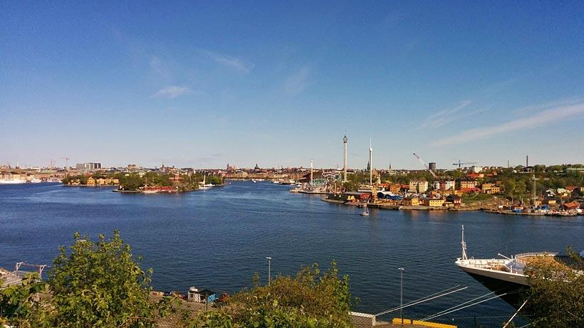 Utsikt från Fåfängan