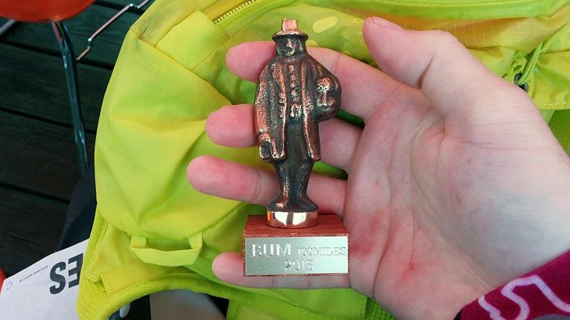 Medalj/Knalle, BUM 100 miles