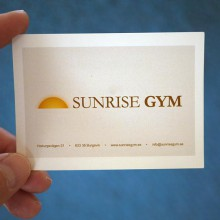 Gymkort Sunrise