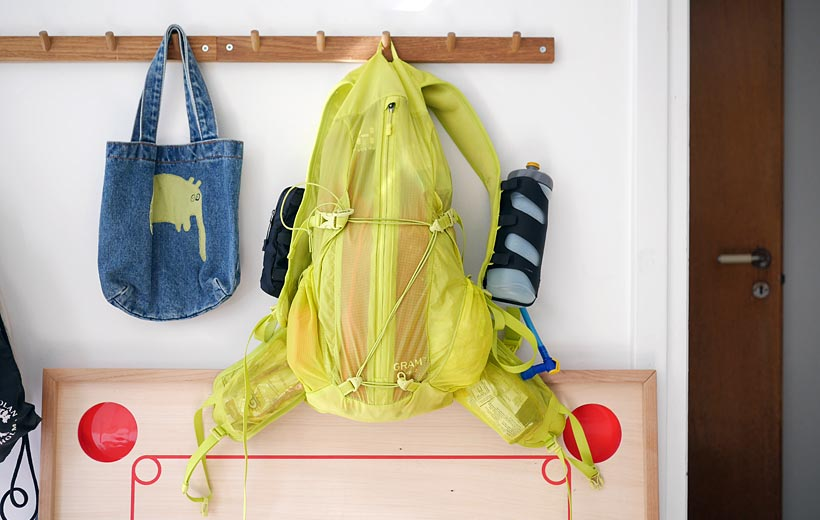 Provpackad ryggsäck