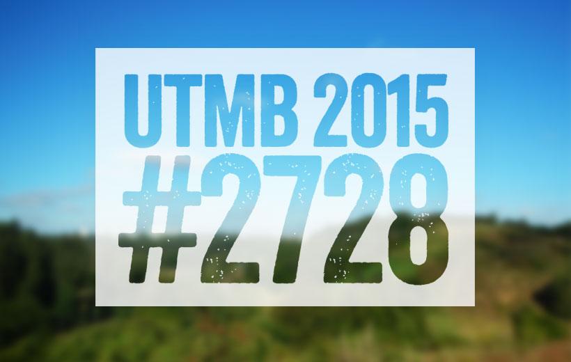 Startnummer 2728 UTMB 2015