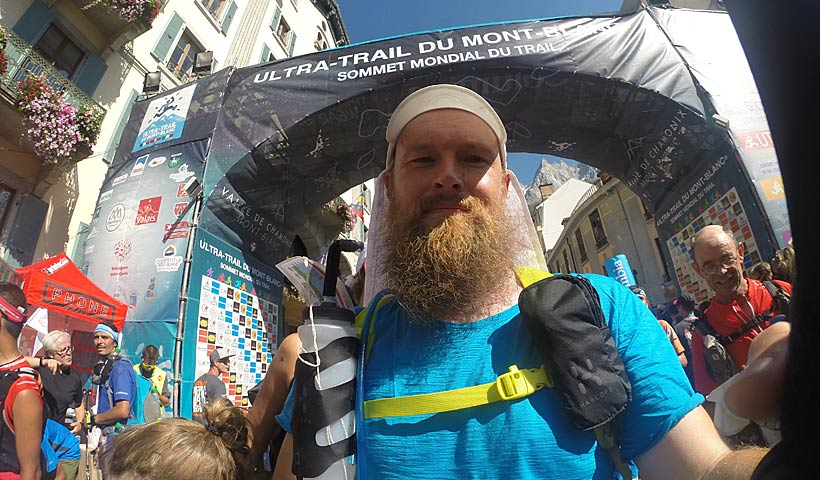 UTMB finisher