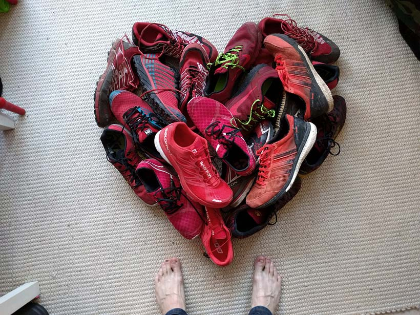 I love running shoes