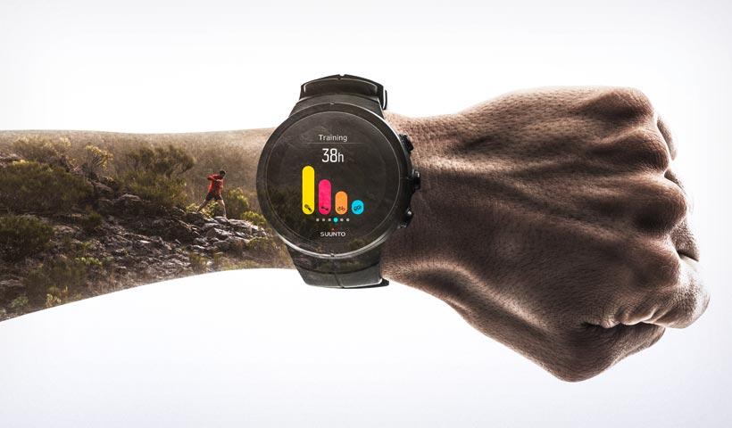 GPS-klocka Suunto Spartan Ultra