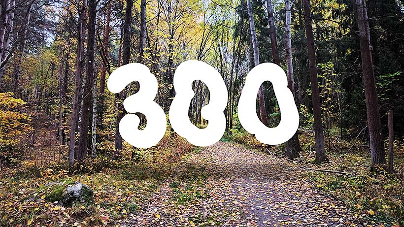 300 mil löpning 2016