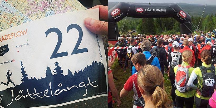 Jättelångt och AXA Fjällmaraton