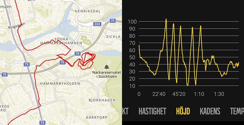 Stockholms Brantaste under transportlöpning