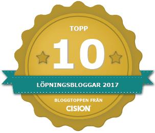 Topp 10 Löparblogg 2017