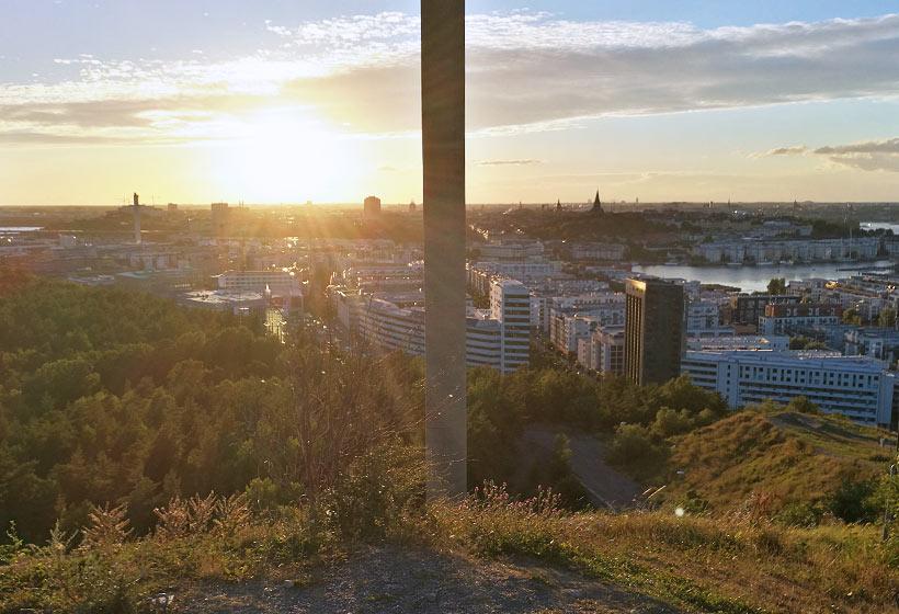 Toppen av Hammarbybacken